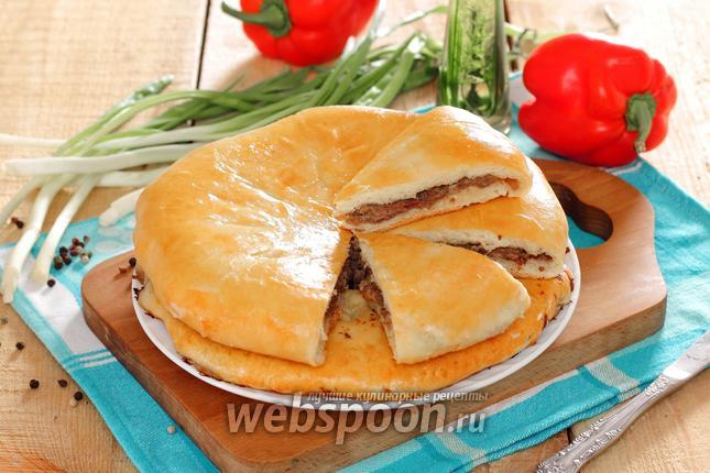 Фото Хачапури с мясом в духовке