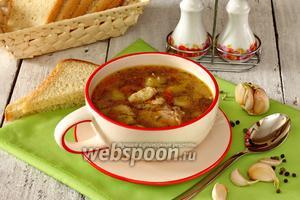 Суп гречневый с клёцками