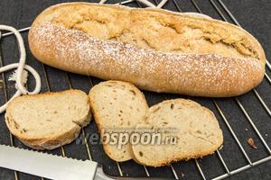 Цельнозерновой хлеб на оливковом масле
