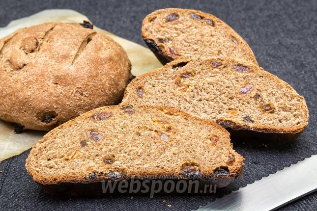 Хлеб с изюмом в духовке