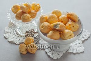 Эклеры домашние с сыром