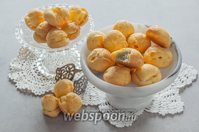 Фото Эклеры домашние с сыром