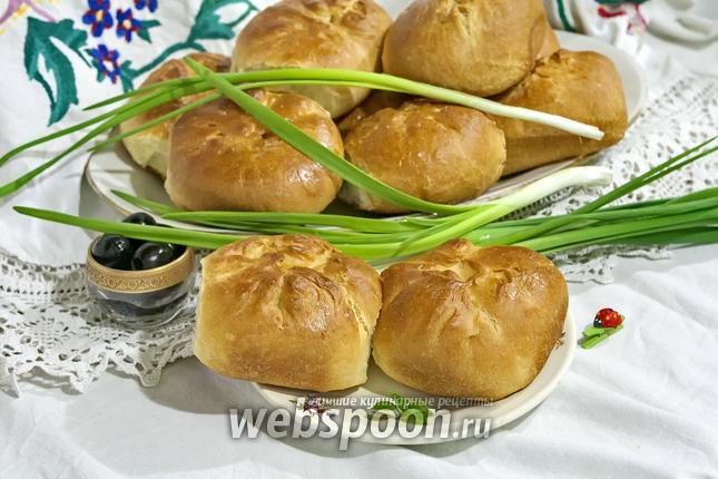 Фото Пирожки духовые с бараньим фаршем