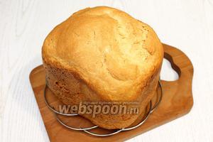 Охладите хлеб в течение 1 часа и подавайте на стол. Наш хлеб на йогурте готов. Приятного аппетита!