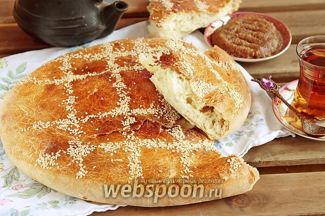 Фото Хлеб на сыворотке с оливковым маслом