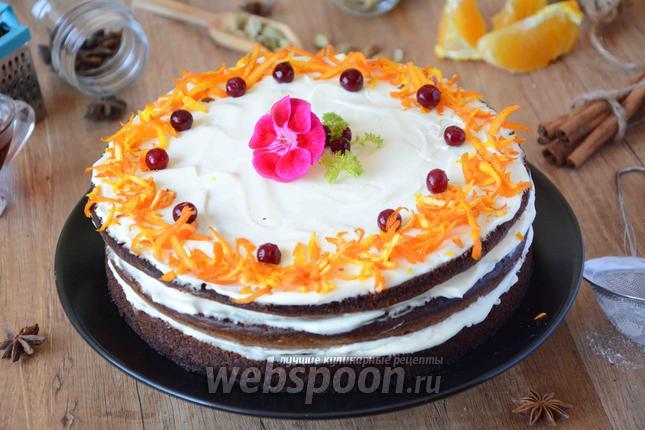 Фото Тыквенный торт