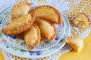 Сырные пирожки с картошкой