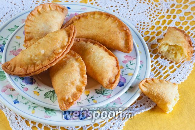 Фото Сырные пирожки с картошкой