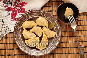 Пельмени из трёх видов мяса