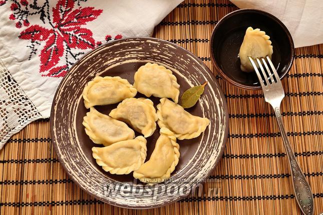 Фото Пельмени из трёх видов мяса