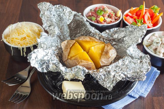 Фото «Крошка-картошка» запечённая в духовке