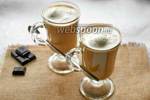 Кофе с мороженым «Гляссе»