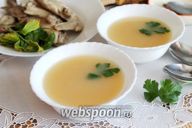 Овощной суп-пюре на курином бульоне калорийность, состав.