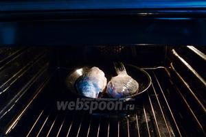 Запекаем в разогретой до 180-190°С духовке минут 40-50.