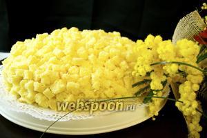 Итальянский торт «Мимоза»
