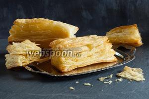 Слоёное пресное тесто