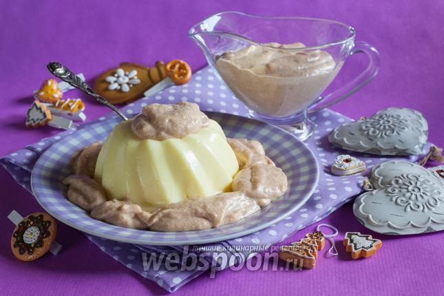 Фото Десертный соус из пряников