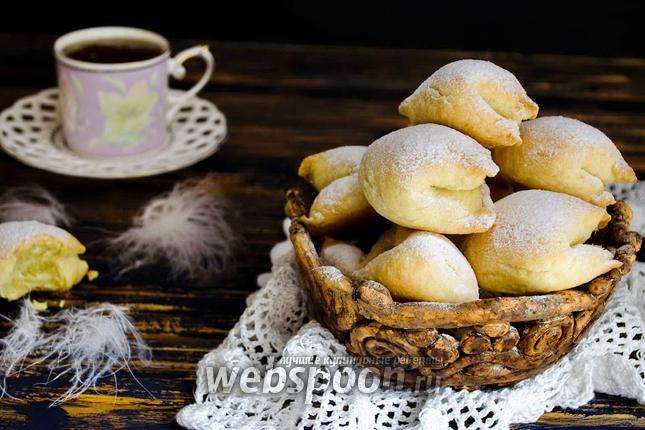 Фото Печенье «Подушечки» с яблочной начинкой