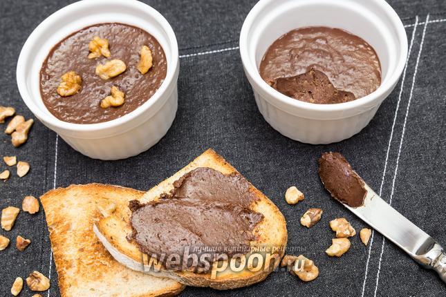 Фото Шоколадная паста с орехами