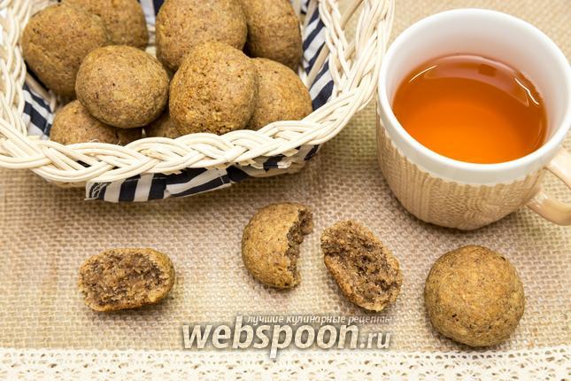 Фото Ржаное печенье с орехами