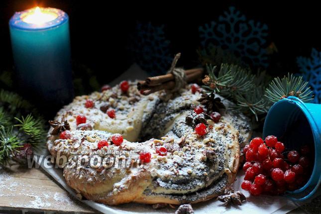 Фото Маковый кекс на Рождество