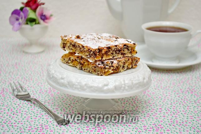 Фото Кокосово-ананасовый пирог