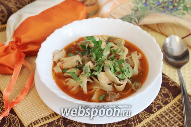 Лагман в домашних условиях рецепт татарский 12