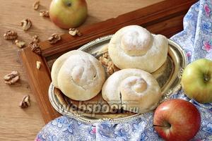 Испанские булочки Энсаймадас