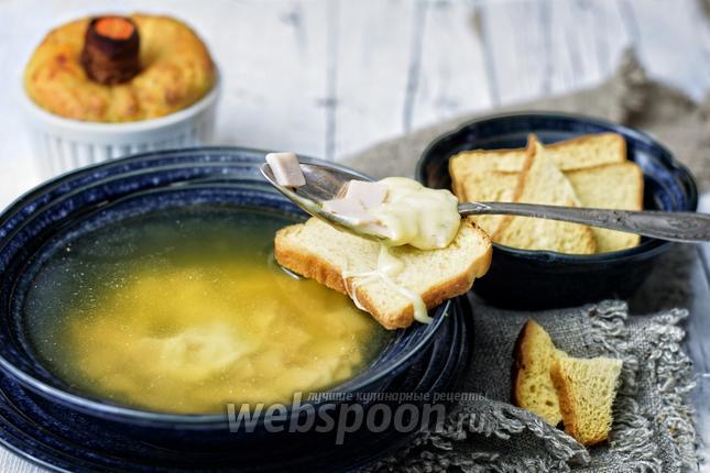 Фото Чешский суп «Часничка»