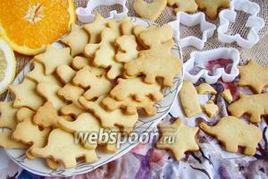 Цитрусовое печенье от Джейми Оливера
