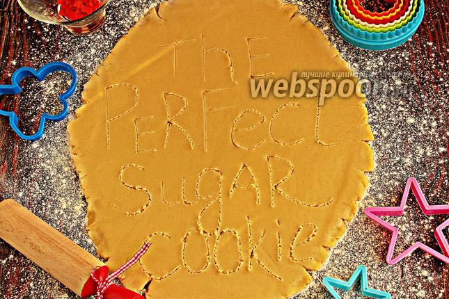 Фото Сахарное тесто для печенья