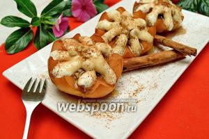 Айва запечённая с орехами