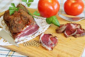 Бастурма из свинины