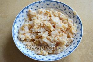 В Италии можно купить уже готовую отварную пшеницу как раз для приготовления Пастьера! Она выглядит вот так...