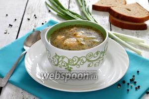 Суп с фрикадельками рыбными из сёмги