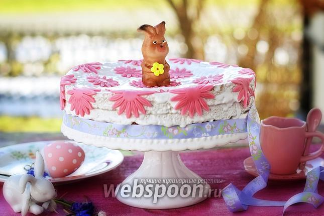 Фото Пасхальный морковный торт
