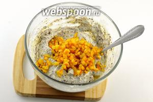 Добавить апельсиновые корки без сиропа.