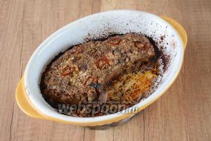 Спустя время, достаём из духовки. Подаём блюдо в горячем виде. Приятного аппетита!
