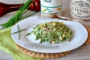 Тирольские клёцки со шпинатом