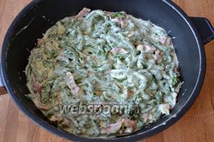 И наши тирольские клёцки со шпинатом готовы!