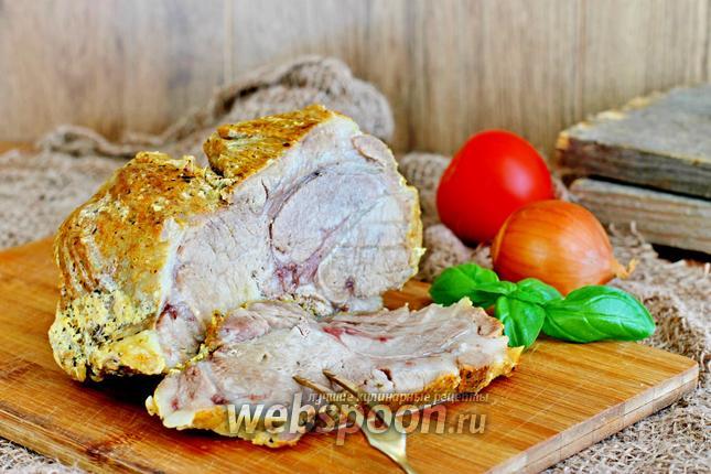 Фото Ароматное мясо в мультиварке