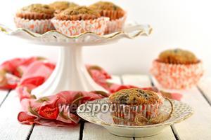 Маффины с ягодами из варенья