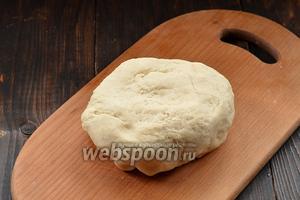 Приготовить  заварное тесто для вареников .