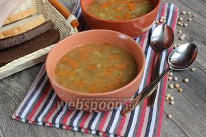 Гороховый суп с тушёнкой