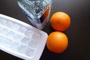 Подготовим ингредиенты для коктейля. Водку берём хорошего качества. Апельсиновый сок можно взять пакетированный, но свежий, конечно же, вкусней и ароматнее. Соотношение водка/апельсиновый сок — 1:3, хотя я встречала и 1:2, но первый вариант мне больше понравился. В любом случае, это дело вкуса!