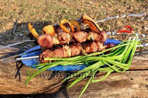 Шашлык из свинины классический на уксусе
