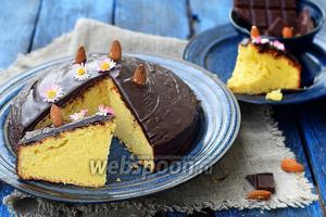 Миндально-шоколадный бисквит Parrozzo