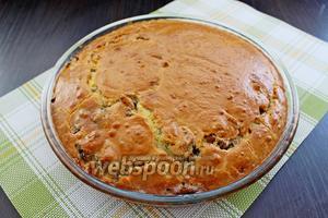 Готовый пирог вынуть и остудить. Приятного аппетита!!!