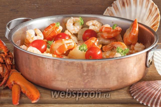 Фото Соте из морепродуктов