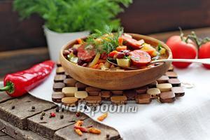 Суп с красной фасолью в мультиварке